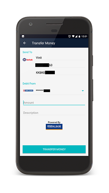 Cointab Account IFSC Money Transfer
