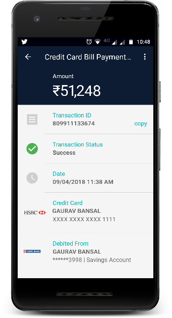 HSBC Credit Card Payment using Any Bank Account in 5 Easy Steps